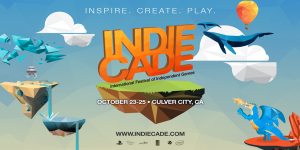 IndieCade 2015 Banner. October 23-25 in Culver City, CA.