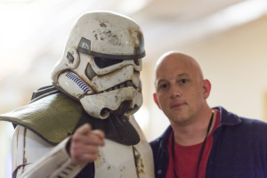 Stolen from the Wyrd Con website, this photo shows a stormtrooper pointing a finger at the viewer, just like good 'ole Uncle Sam. Clearly, Wyrd Con wants YOU at the Con.
