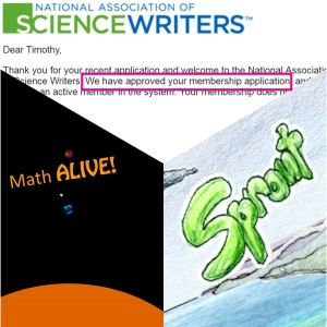 The NASW, Math ALIVE!, and Sprout